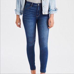 American Eagle Super High Rise Jegging Skinny Jean